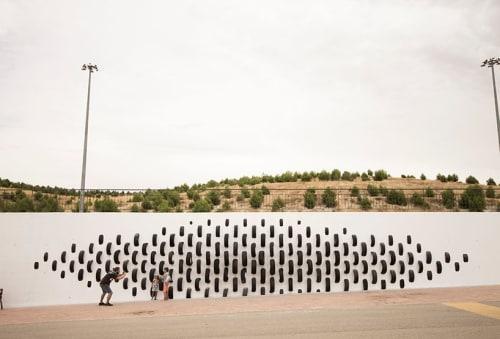 """Public Art by Octavi Serra seen at Rivas-Vaciamadrid, Rivas-Vaciamadrid - """"ONA"""""""
