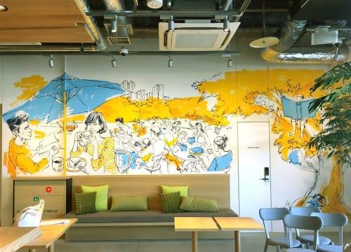 Mariya Suzuki - Murals and Art