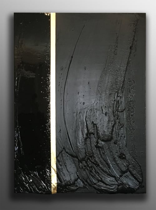 Paintings by Nickhartist seen at Private Residence, Chicago - Noir