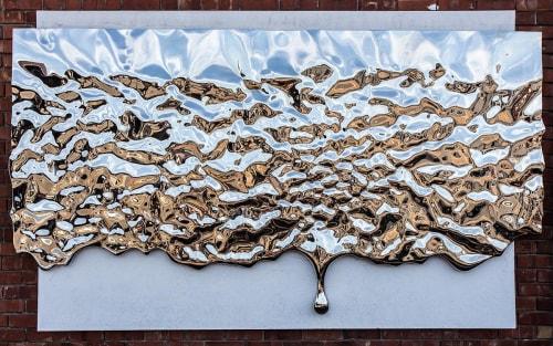 Public Sculptures by Rado Kirov seen at DIOR - LONDON NEW BOND STREET, London - Mercury Landscape 2016