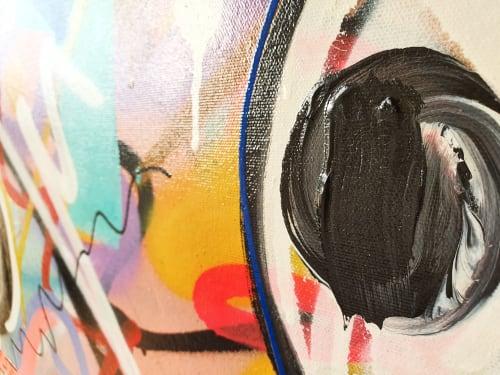 Paintings by Ramon Bruin seen at Creator's Studio, Heerhugowaard - Lucky Number 13