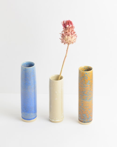 Vases & Vessels by Glaze Me Pretty seen at Private Residence - London, UK, London - Narrow vases