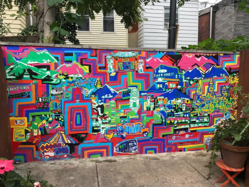 Shira Walinsky - Street Murals and Public Art