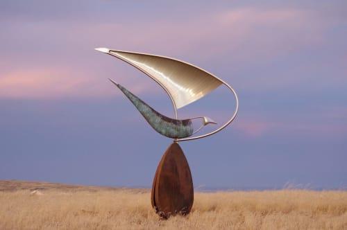 Public Sculptures by Nicholas Uhlmann Sculpture seen at Palmer, Palmer - Seed I