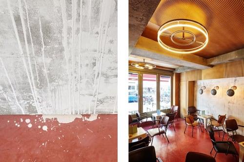 Interior Design by Studio Modijefsky seen at Bar Basquiat, Amsterdam - Interior Design