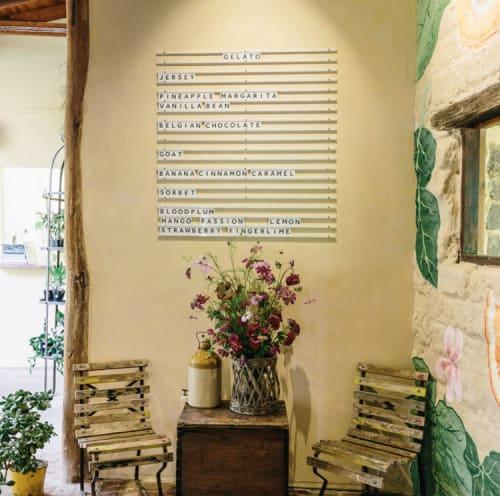 Interior Design by STEWART + HIGHFIELD seen at Bar Botanica, Erina - Bar Botanica