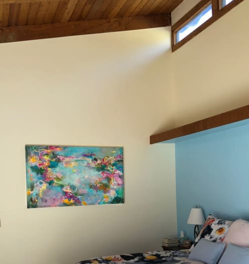 Paintings by Nedret Andre seen at Private Residence, Cincinnati - Desiring Seagrass