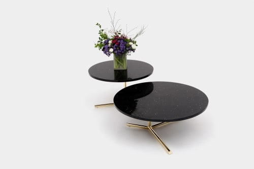 Tables by ARTLESS seen at 12130 Millennium Dr, Los Angeles - Consort Side Tables
