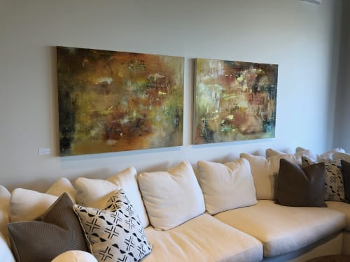 Art Curation by Anne B Schwartz seen at Kreiss Home Furnishings, West Hollywood - Kreiss Home Furnishing