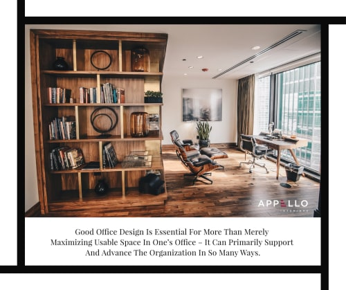 Interior Design by appellointeriors seen at Dubai, Dubai - Office Interior Design