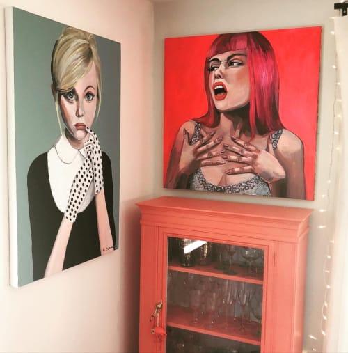 Art Curation by Sabrina Cabada seen at Private Residence, Arlington - Drama at the Disco