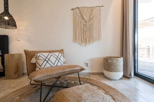 Macrame Wall Hanging by Nordic Macramé by Hanna seen at Private Residence, Burgau - Crystal Love
