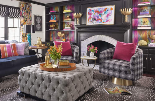 Interior Design by Kerry Steele seen at Private Residence, Charlotte, Charlotte - Designer Lisa Mende's house