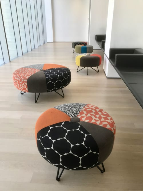 Interior Design by Onno Raadersma seen at New York, New York - upholstery 'Mod' by Designtex
