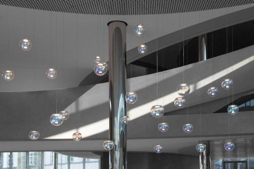 Pendants by NEO/CRAFT seen at Darmstadt, Darmstadt - Iris