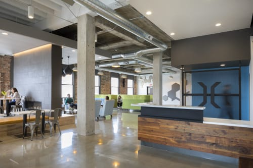 Interior Design by Studio | BRiNK seen at Ottumwa, Ottumwa - The Bridge Hub Community Center