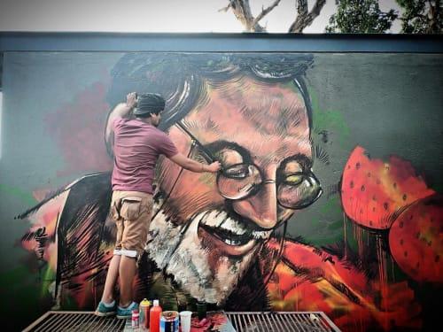 nileshartist - Murals and Street Murals