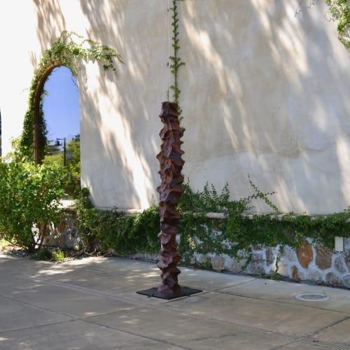 Public Art Sculpture   Sculptures by Lutz Hornischer - Sculptures & Wood Art   North Block Hotel in Yountville