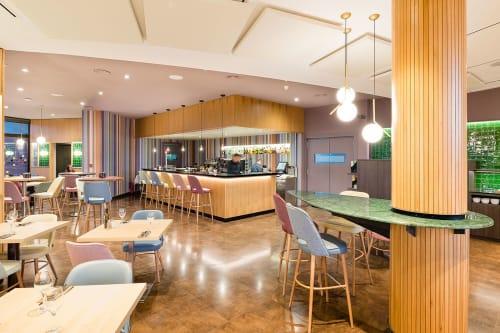 "Interior Design by FFWD Arquitectes seen at Hotel Ciutat de Granollers, Granollers - ""Restaurant City Interior Design Project"""