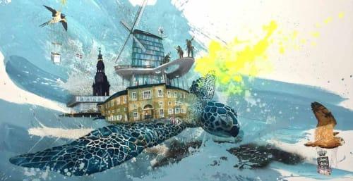 Frederik Hesseldahl - The Art of Clean - Art and Street Murals