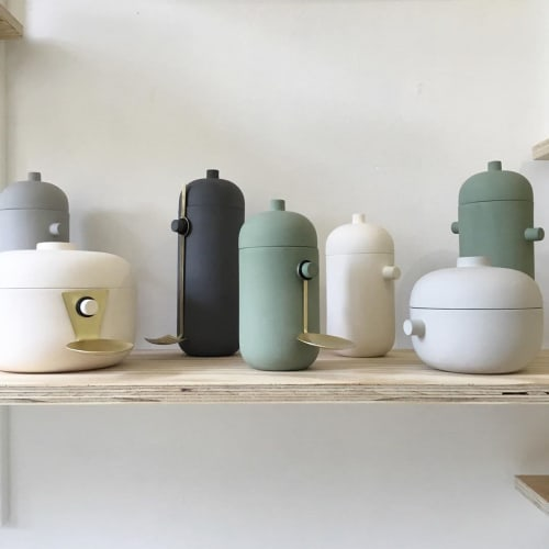 Vases & Vessels by Natascha Madeiski seen at Kobi & Teal, Frome - Now & Then Storage Jars
