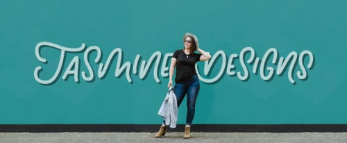 Jasmine Holmes - Public Art and Murals