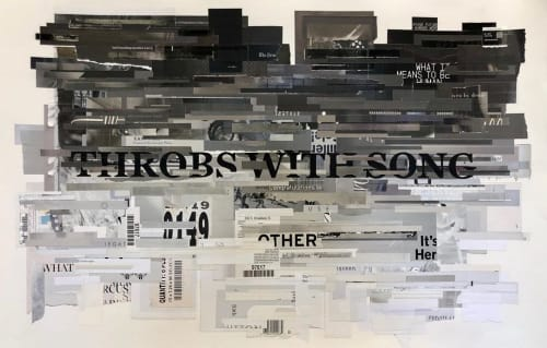 Art & Wall Decor by Tm Gratkowski seen at Castelli Art Space, Los Angeles - Throbs With Song