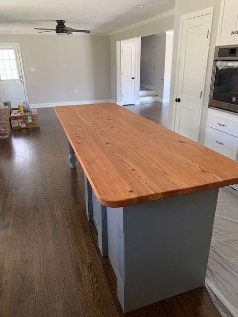 Tables by Peach State Sawyer Services seen at Private Residence, Sardis - Heartpine Island