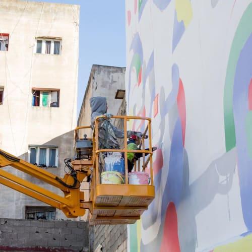 Street Murals by gr170 seen at Rabat, Rabat - Morocan Postcard