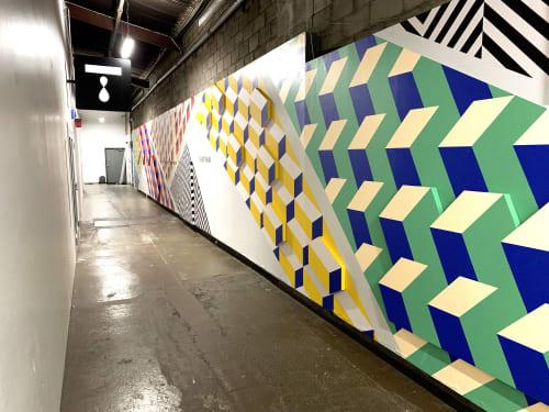 Murals by Andrew Haan (Haanmade) seen at Tastemade, Santa Monica - Tastemade