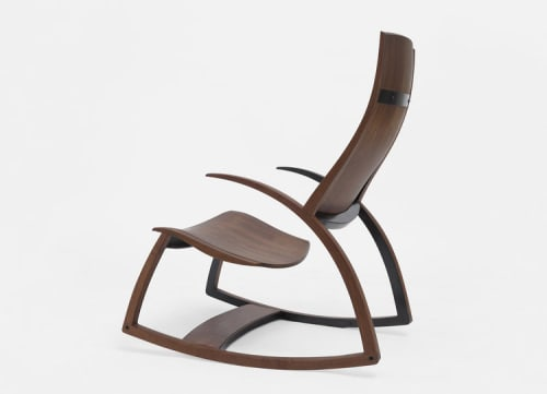 Chairs by Reed Hansuld at Private Residence, Brooklyn - Rocking Chair No. 1