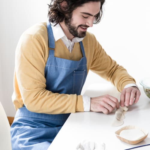 Aprons by BoWorkwear at Private Residence, Brooklyn - Minimal Blue Apron