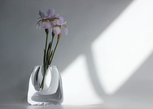 Vases & Vessels by BAIBA GLASS seen at Private Residence, Riga - CALM Vase | Small