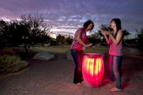 Public Sculptures by Creative Machines seen at Tucson, Tucson - Public Drums