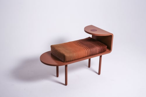 Benches & Ottomans by Kassa Studio seen at Berlin - The Halau bench and rug