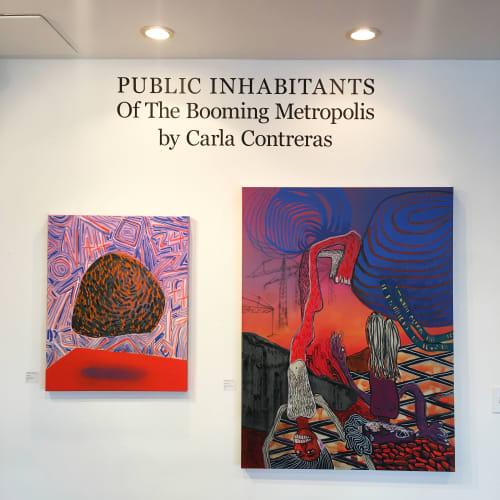 Paintings by CARLA.CONTRERAS.ART seen at Besharat Gallery, Atlanta - Lump Painting