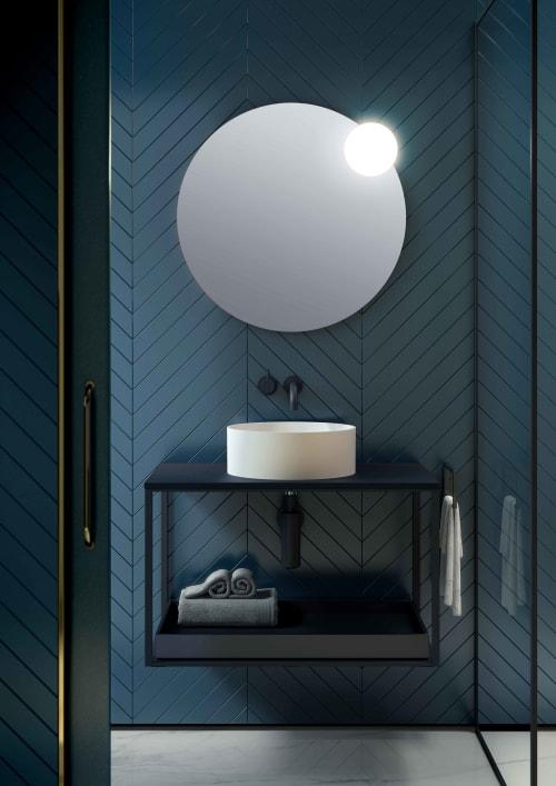 Interior Design by Nahtrang Studio seen at Private Residence, Barcelona - Circ Mirror