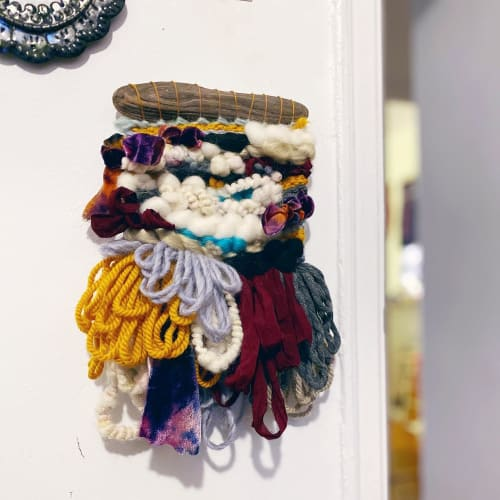 Macrame Wall Hanging by Gabrielle Mitchell Studio seen at Private Residence, Brooklyn - Bold Organic Weaving