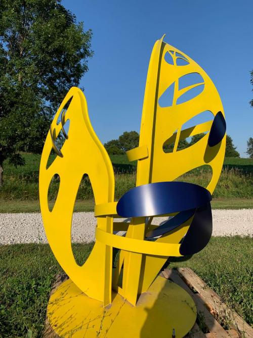 Metamorphosis | Public Sculptures by Hilde DeBruyne Art & Design LLC