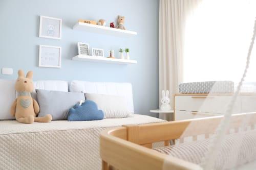 Interior Design by StudioPro Arquitetura seen at Private Residence, Formiga - Antonio baby's bedroom