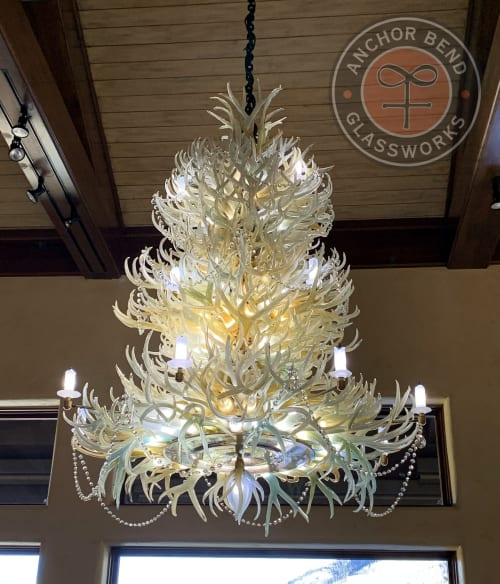 Anchor Bend Glassworks - Chandeliers and Lighting