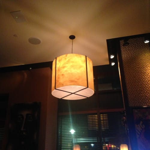 Pendants by CP Lighting at Carolina Kitchen Bar & Grill, Hyattsville - Acrylic Pendants