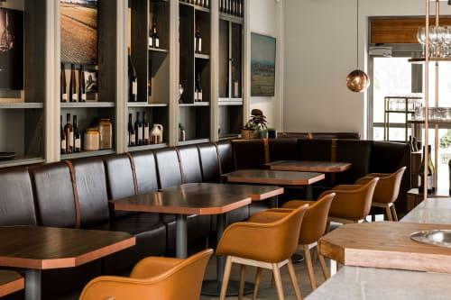 Interior Design by Izzard Design seen at Craggy Range Vineyards, Havelock North - Interior Design