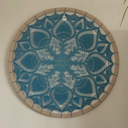 Wall Hangings by Woolly Fingers seen at Private Residence - Artemisa Mandala