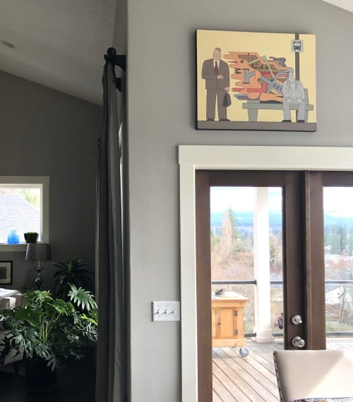 Paintings by Alan Rose seen at Private Residence, Washougal - Opinion Zombie