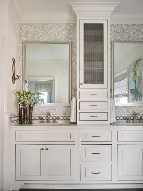 Interior Design by Liz Williams Interiors seen at Private Residence, Atlanta - Brookhaven Master  Bath