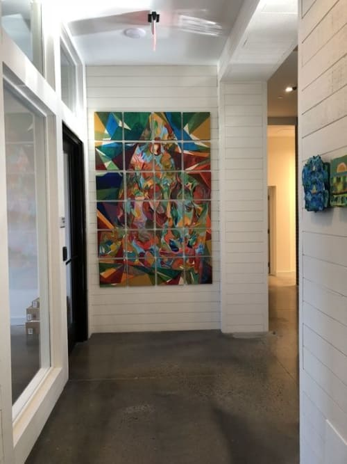Paintings by Destiny Palmer seen at Heirloom Flats, Bloomfield - Heirloom Flat Commission - Grid