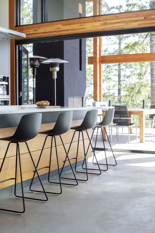 Chairs by Lapalma seen at Private Residence, Salt Spring Island - Chairs