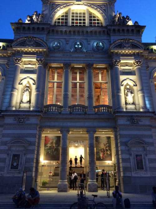 """Photography by Christy Lee Rogers seen at Angers Nantes Opera, Nantes - """"The Heart is a Lonely Hunter"""" Outside Installation"""