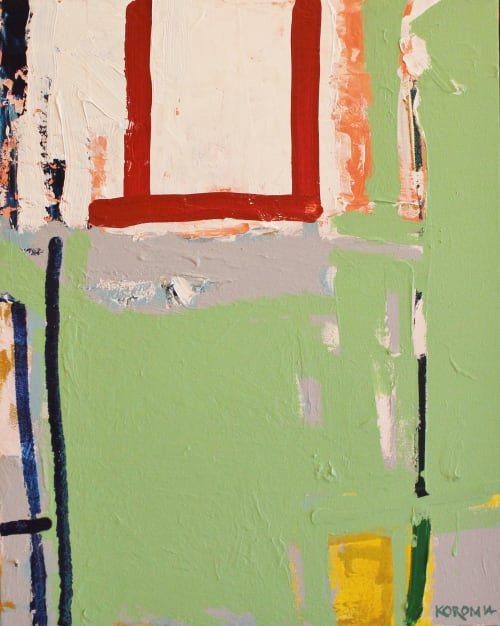 Paintings by Joey Korom seen at Private Residence - Abstract Painting 24